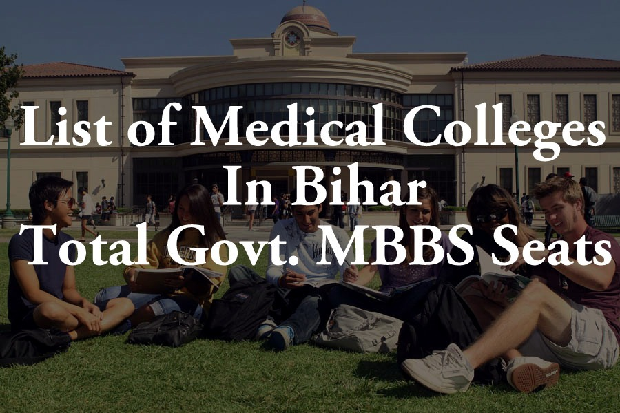 List Of Medical Colleges In Bihar