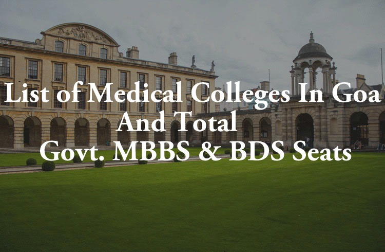 List Of Medical Colleges In Goa