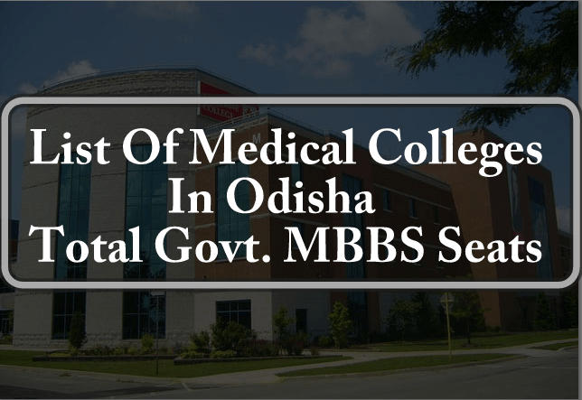List Of Medical Colleges In Odisha