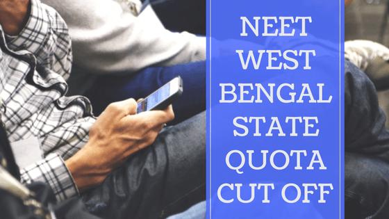 NEET-West-Bengal-State-Quota-CutOff