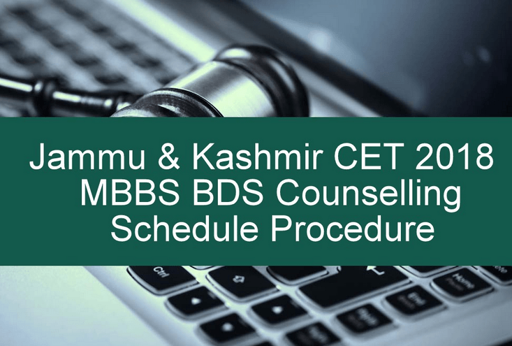Jammu And Kashmir CET 2018 MBBS BDS Counselling