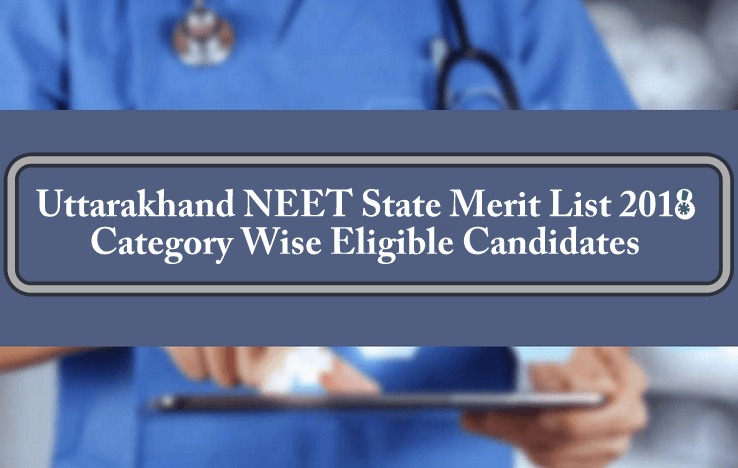 UK Uttarakhand NEET State Merit List