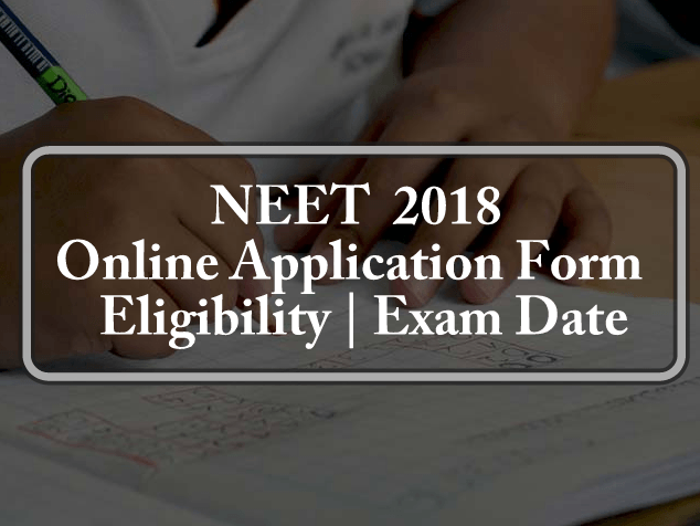 NEET Application Form 2018 Online