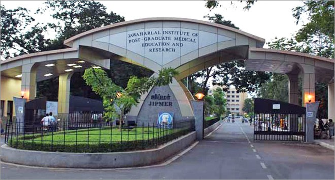 Jawaharlal Institute of Postgraduate Medical Education and Research (JIPMER) Pondicherry