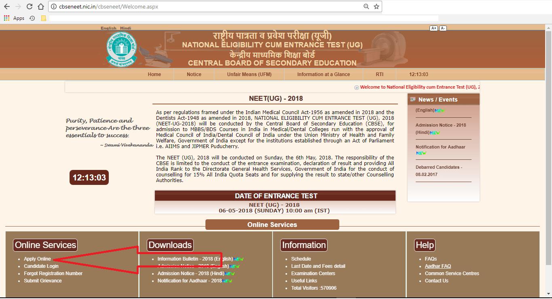 NEET2018-application-process