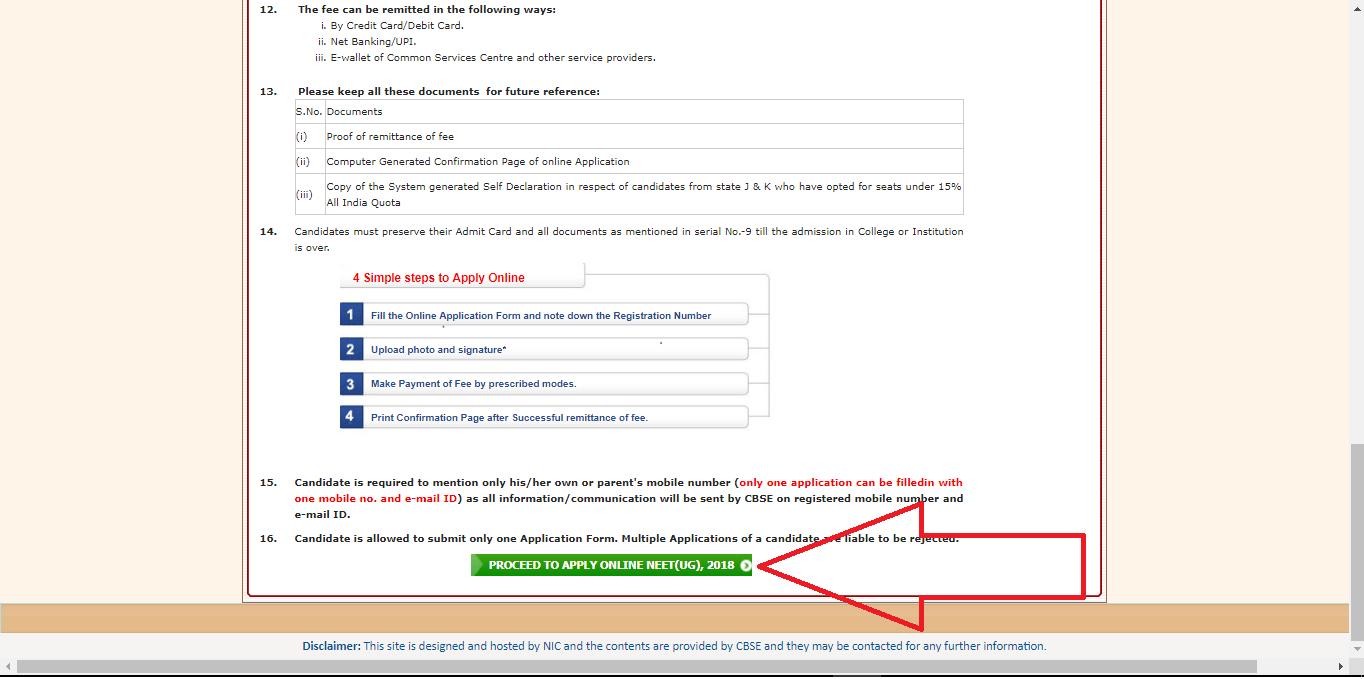 NEETUG-application-form-filling