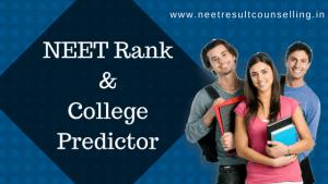 NEET Rank Predictor