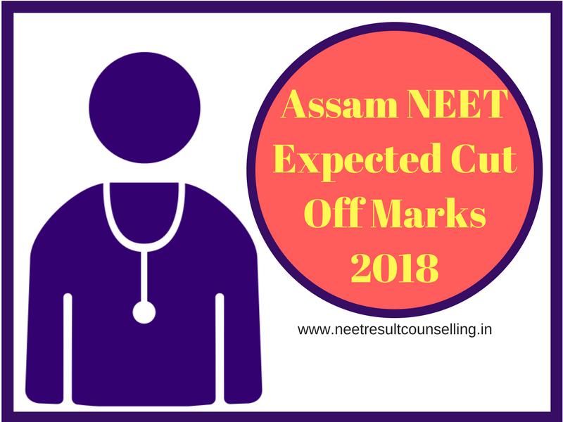 Assam NEET Expected Cut Off Marks 2018