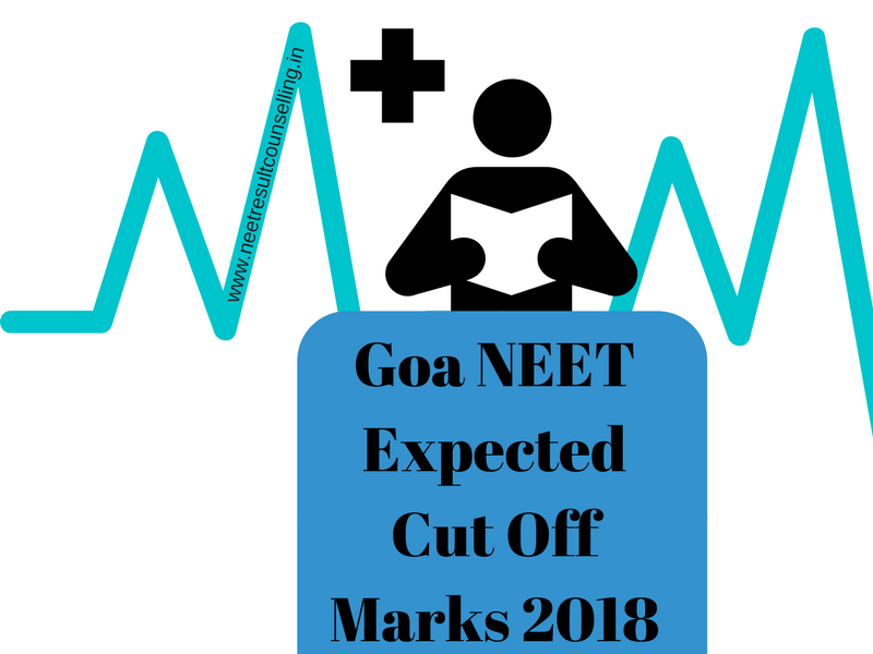 Goa NEET Expected Cut Off Marks 2018