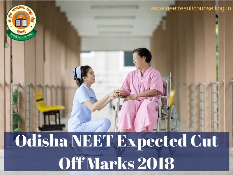 Odisha NEET Expected Cut Off Marks 2018