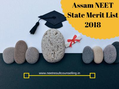 Assam NEET State Merit List
