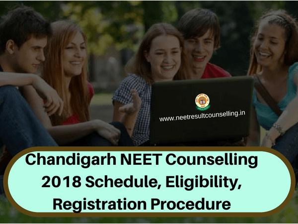 Chandigarh NEET Counselling 2018