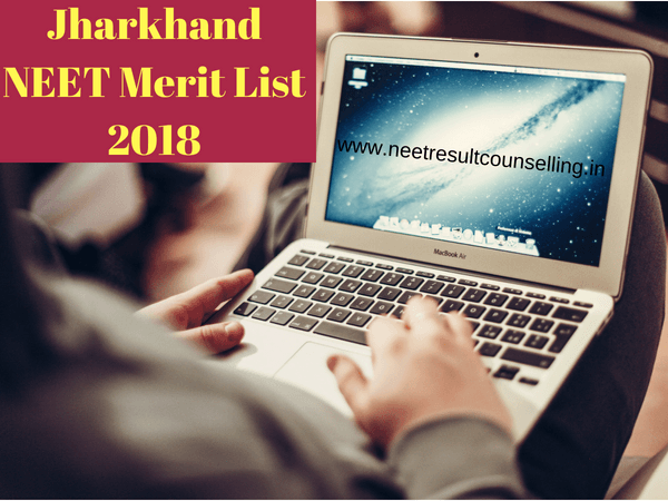 Jharkhand NEET Merit List 2018