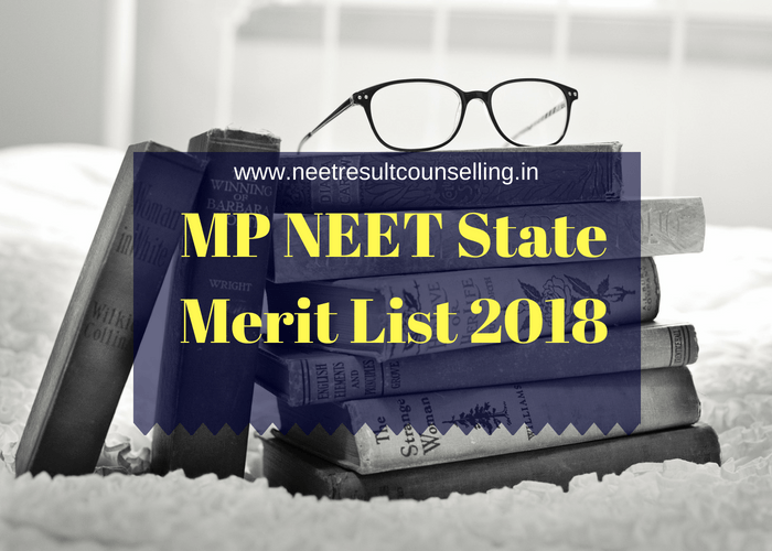 MP NEET State Merit List 2018