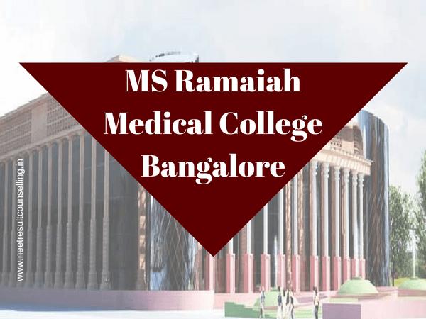 MS Ramaiah Medical College, Bangalore
