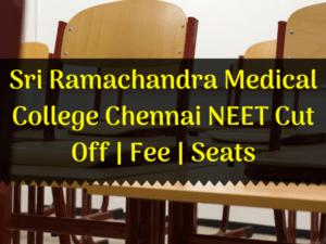 Sri Ramachandra Medical College Chennai