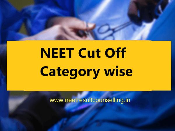 neet-cut-off-category-wise