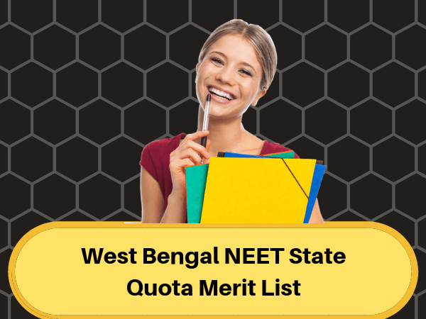 West Bengal NEET State Quota Merit List