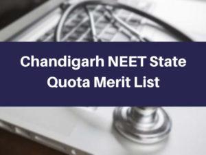 Chandigarh-NEET-State-Quota-Merit-List