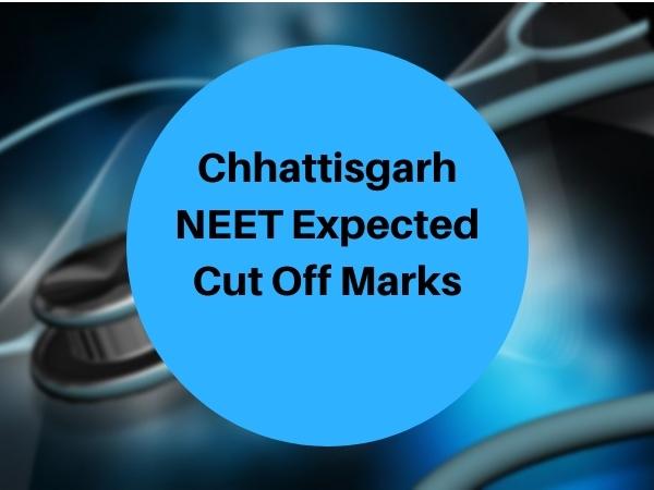 Chhattisgarh NEET Expected Cut Off