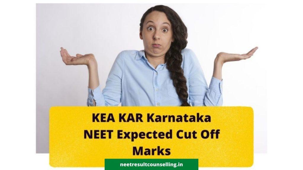 KEA-KAR-Karnataka-NEET-Expected-Cut-Off-marks