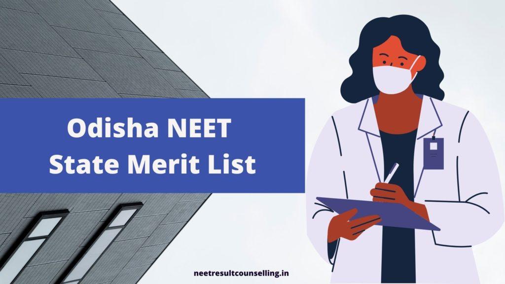 Odisha NEET State Merit List