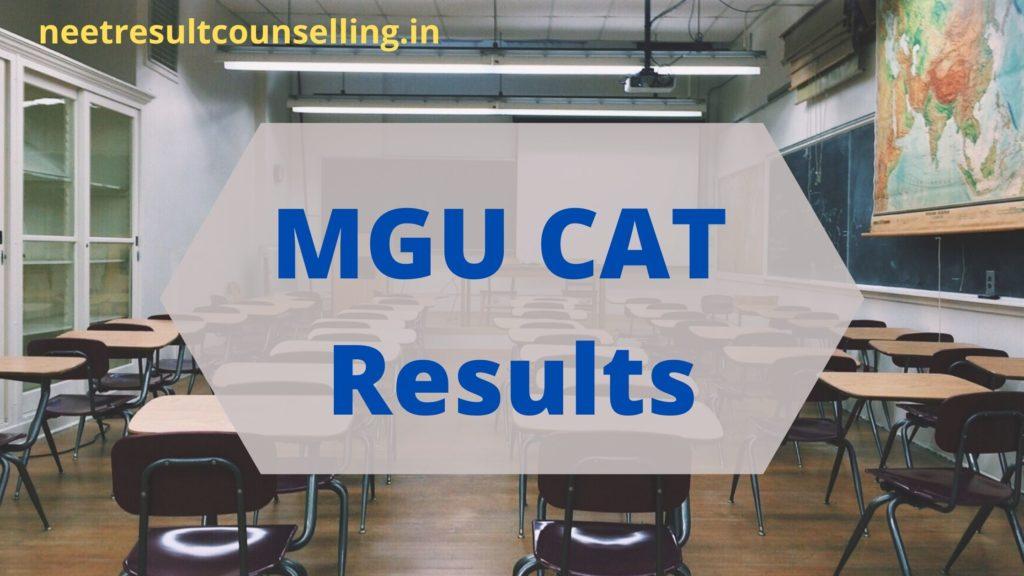 MGU-CAT Results-2020