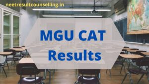 MGU-CAT Results-2020