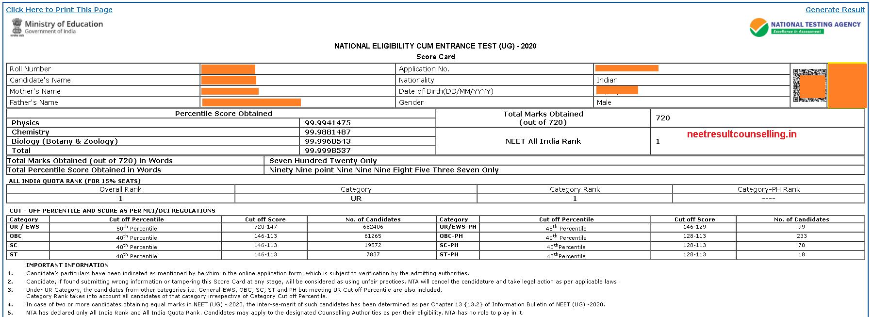 NEET-2020-Scorecard-image