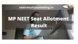 MP-neet-seat-allotment-result-2020
