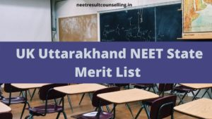 UK Uttarakhand NEET State Merit List